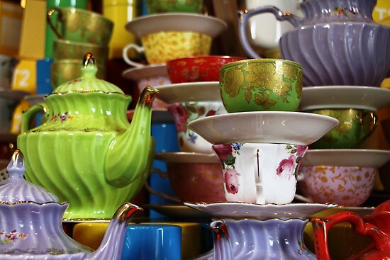 High Tea by Natalie Ord