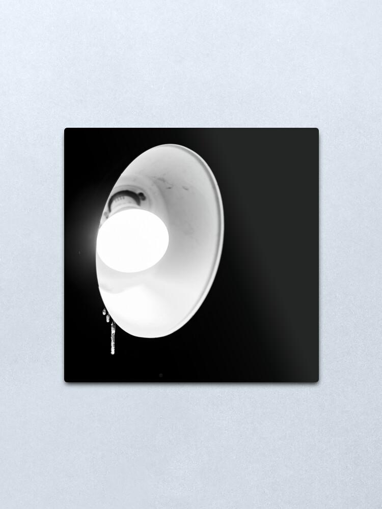 Alternate view of Light Silhouette  Metal Print