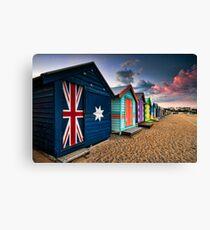 Brighton Beach Box Canvas Print