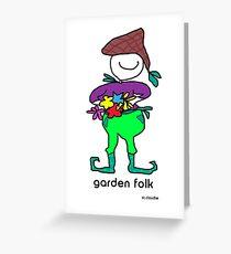 Gartenliebhaber Grußkarte