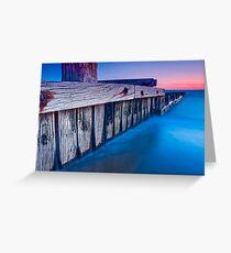 Dusk at Mentone Pier #3 Greeting Card