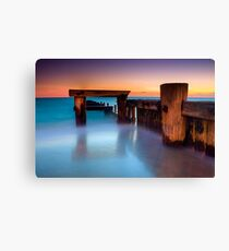 Dusk at Mentone Pier #4 Canvas Print