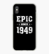 Epic Since 1949, 70th Birthday Retro Style Vintage iPhone Case