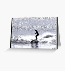 Dimond Surf Greeting Card