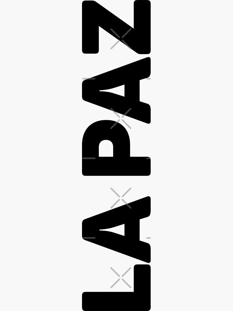 La Paz by designkitsch