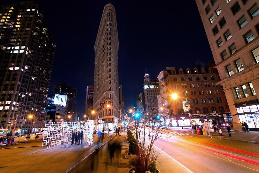 Flat Iron New York City by freespan