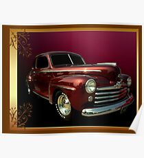 1948 Ford Custom Coupe Poster