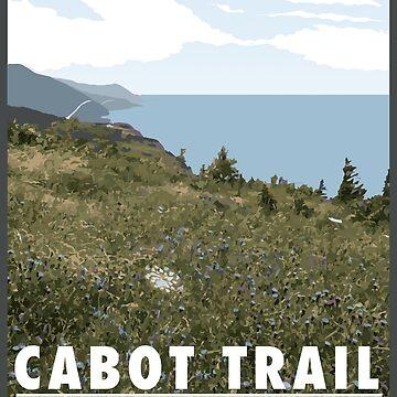 Cabot Trail Cape Breton Nova Scotia von jackburnsghost