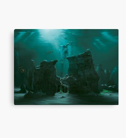 Sunken Ruins Canvas Print