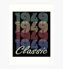 Born in 1949 Vintage Art Print