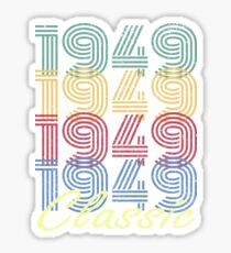 Born in 1949 Vintage Sticker