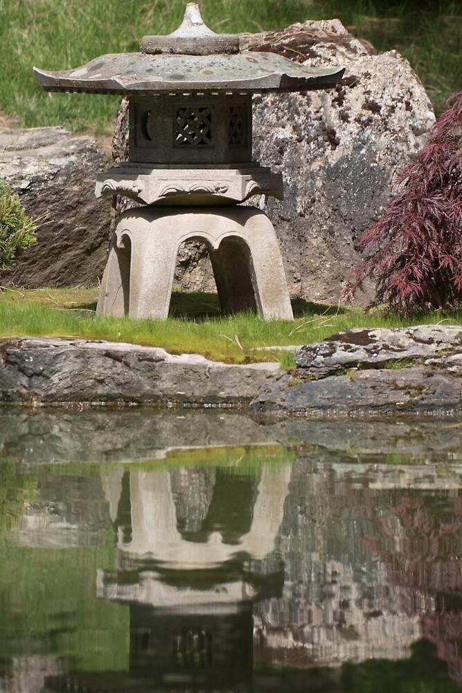 Japanese Flower Garden Pond Decoration by Matthew Kochel JJ In A Jayco