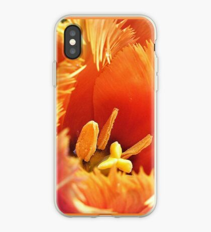 Tulip With A Fringe On Top iPhone Case