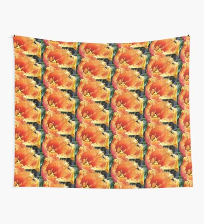 Tulip With A Fringe On Top Wall Tapestry