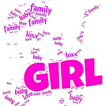 Its A Girl   Baby Shower Pregnant Girl Gift by DrokkWarez