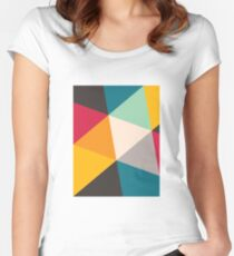 Triangles (2012) Women's Fitted Scoop T-Shirt
