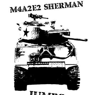 M4A2E2 Sherman Jumbo by bobattackman