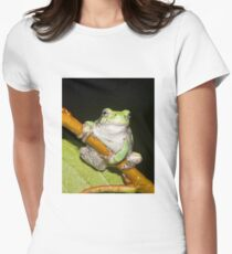 Contemplating Taking To The Air Women's Fitted T-Shirt