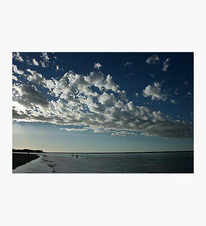 Bathe in the Silver Light - Kalbarri Rivermouth Photographic Print