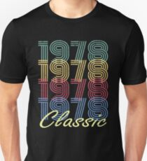 Born in 1978 Vintage Slim Fit T-Shirt