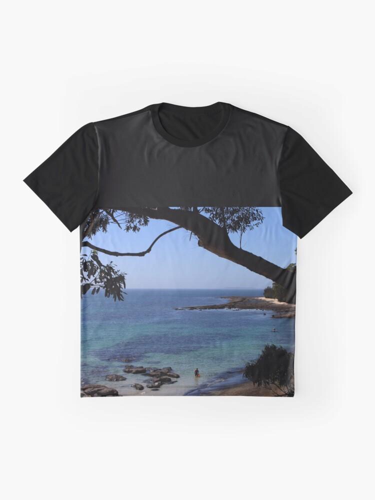 Alternative Ansicht von Das blaue Meer Grafik T-Shirt
