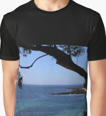 Das blaue Meer Grafik T-Shirt