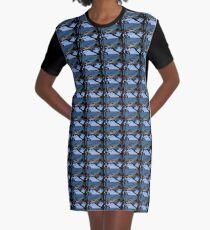 Das blaue Meer T-Shirt Kleid