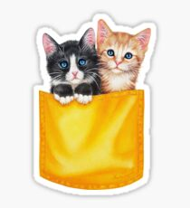 Meow by Maria Tiqwah Sticker