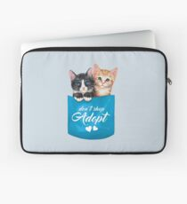Adopt cats by Maria Tiqwah Laptop Sleeve