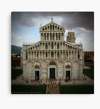 Faith by Numbers Canvas Print