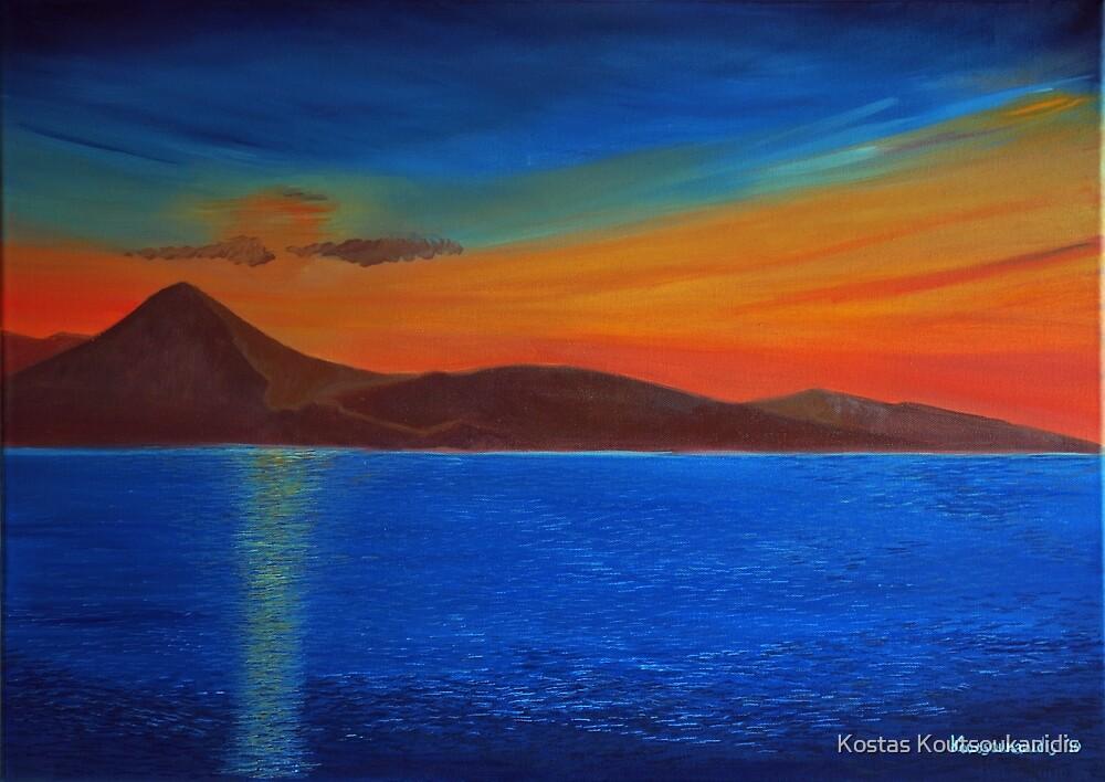 Sunset by Kostas Koutsoukanidis