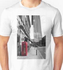 Red Telephone Box and Beetham Tower T-Shirt