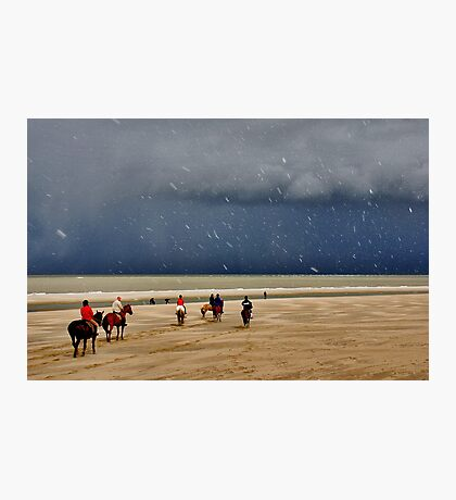 Easter on the North Sea Beach....... Photographic Print