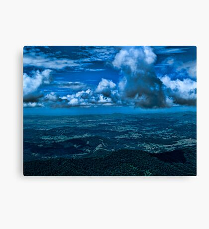 Storm Across the Border Canvas Print