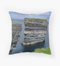 Achill Head, Ireland Throw Pillow