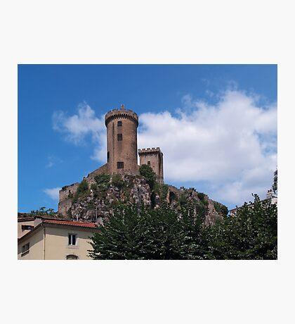 Chateau Foix Photographic Print
