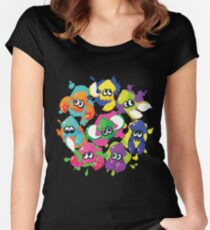 Splatoon - Inkling Squad Women's Fitted Scoop T-Shirt