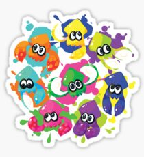 Splatoon - Inkling Squad Sticker