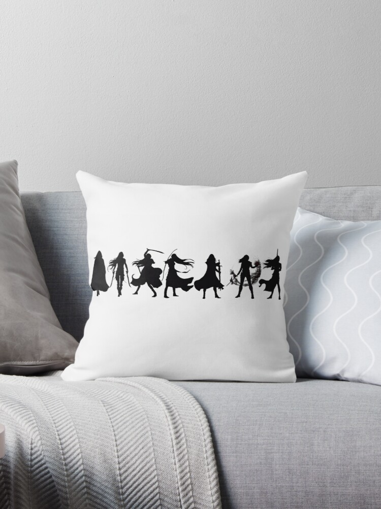 Throne of glass cover silhouettes  by Jenna240702