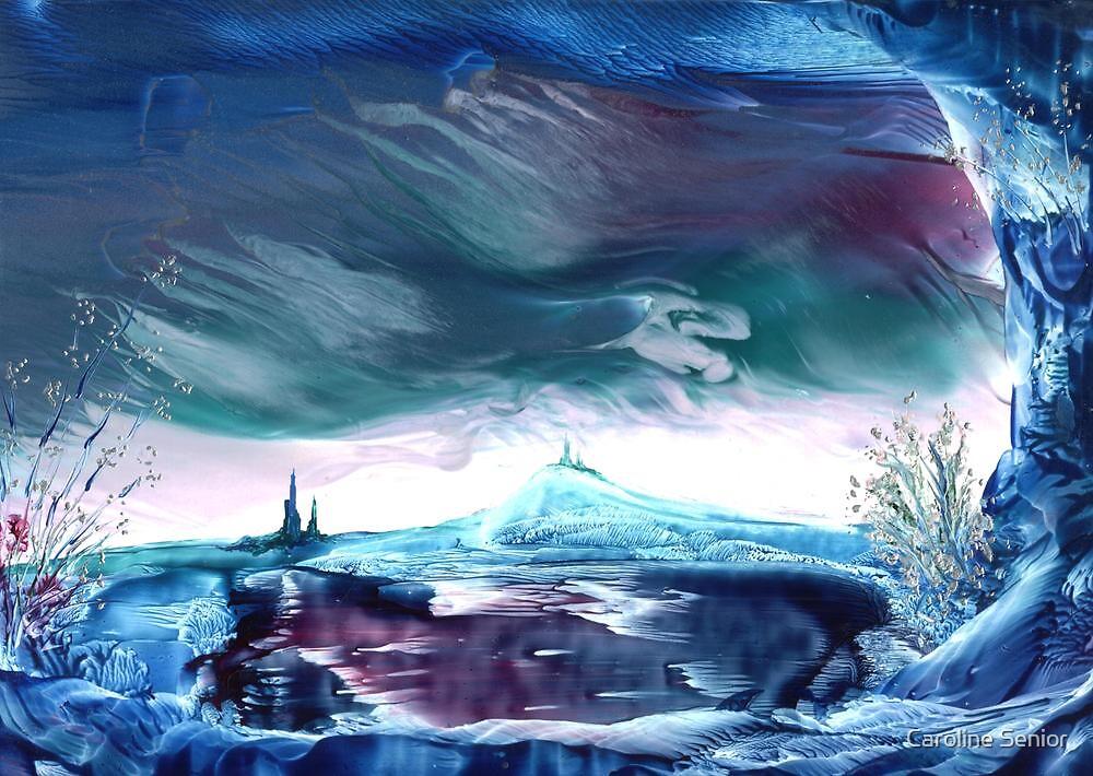 Storm on Azuremyst by Caroline Senior