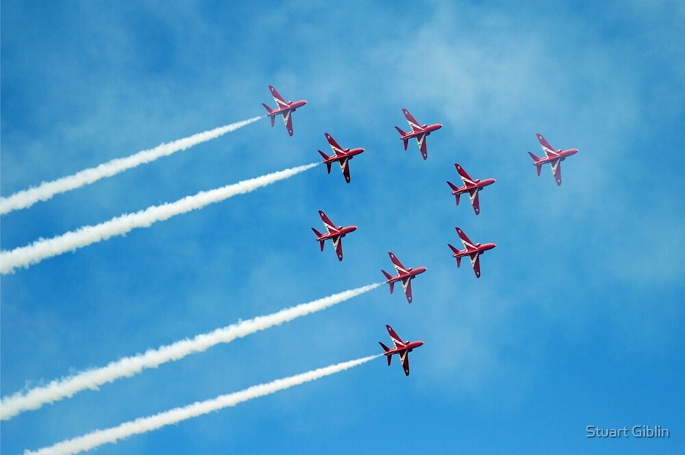 1. Red Arrows at Llandudno by Stuart Giblin