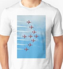 2. Red Arrows at Llandudno Unisex T-Shirt