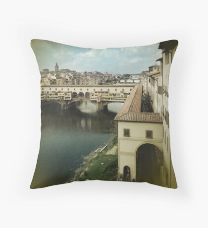 Don't Fade Away Throw Pillow
