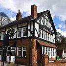 The Worlds End Pub - Knaresborough. by Trevor Kersley