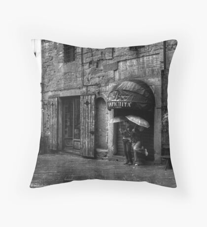 Antichita' - Arezzo, Italy Throw Pillow