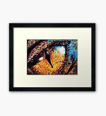 Smaug's Eye Framed Print