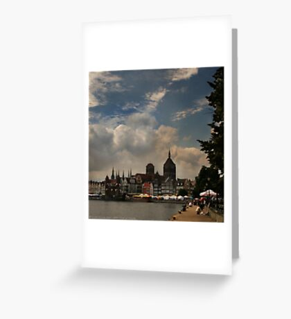 View of Gdansk Greeting Card