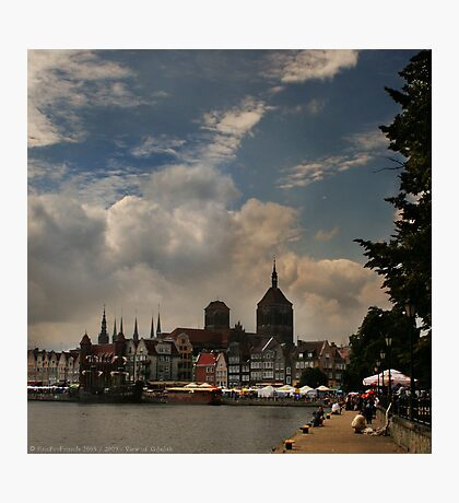 View of Gdansk Photographic Print