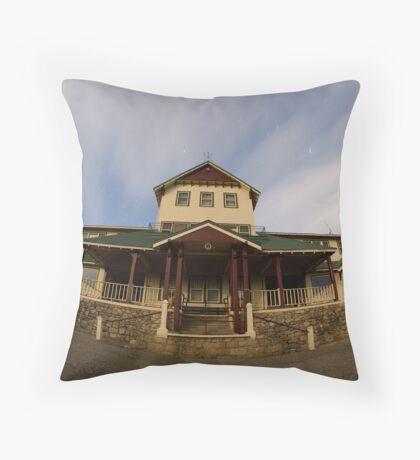 Mt Buffalo Chalet at 10:20 pm  Throw Pillow