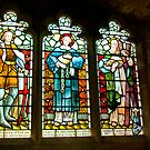 Hubberholme Church Window #2 by Trevor Kersley